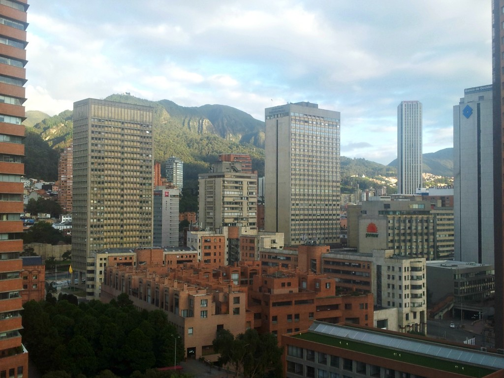 Bogota skyline