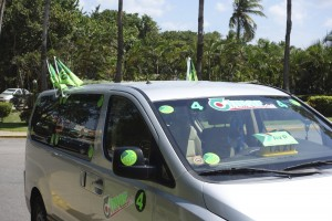 The only sign of forthcoming elections in Aruba