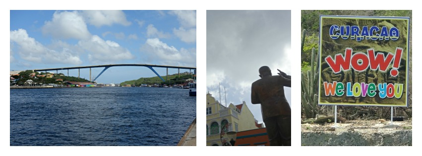 Willemstad with the Queen Juliana bridge and colonial architecture becomes an attractive town to visit